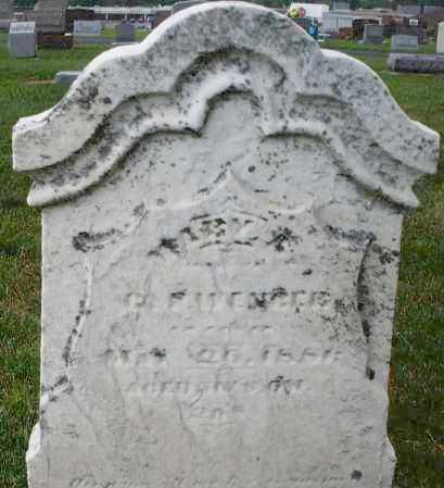 WENGER, MARY A. - Montgomery County, Ohio | MARY A. WENGER - Ohio Gravestone Photos