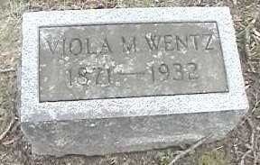 WENTZ, VIOLA M. - Montgomery County, Ohio | VIOLA M. WENTZ - Ohio Gravestone Photos