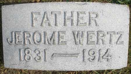 WERTZ, JEROME - Montgomery County, Ohio   JEROME WERTZ - Ohio Gravestone Photos