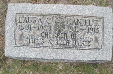 WERTZ, LAURA C. - Montgomery County, Ohio | LAURA C. WERTZ - Ohio Gravestone Photos