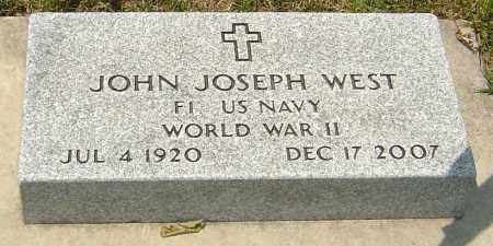 WEST, JOHN JOSEPH - Montgomery County, Ohio | JOHN JOSEPH WEST - Ohio Gravestone Photos