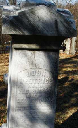 WESTRICH, JOHN - Montgomery County, Ohio | JOHN WESTRICH - Ohio Gravestone Photos