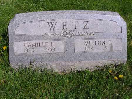 WETZ, CAMILLE F - Montgomery County, Ohio | CAMILLE F WETZ - Ohio Gravestone Photos