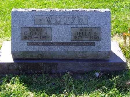 WETZ, DELLA E - Montgomery County, Ohio | DELLA E WETZ - Ohio Gravestone Photos