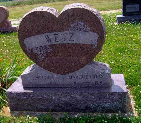 WETZ, LAWRENCE H - Montgomery County, Ohio | LAWRENCE H WETZ - Ohio Gravestone Photos