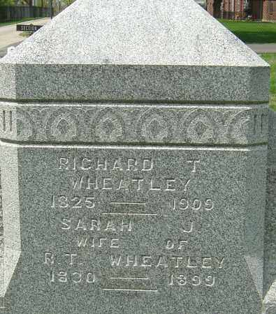WHEATLEY, RICHARD - Montgomery County, Ohio | RICHARD WHEATLEY - Ohio Gravestone Photos