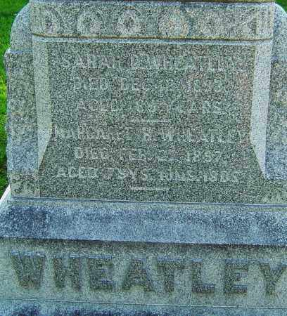 WHEATLEY, MARGARET H - Montgomery County, Ohio | MARGARET H WHEATLEY - Ohio Gravestone Photos