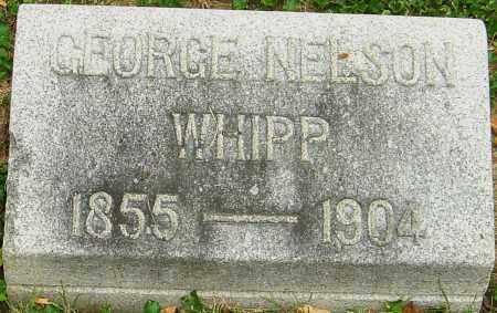 WHIPP, GEORGE NELSON - Montgomery County, Ohio   GEORGE NELSON WHIPP - Ohio Gravestone Photos