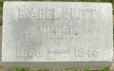NUTT WHIPP, ISABEL - Montgomery County, Ohio | ISABEL NUTT WHIPP - Ohio Gravestone Photos