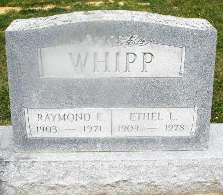 WHIPP, RAYMOND E. - Montgomery County, Ohio | RAYMOND E. WHIPP - Ohio Gravestone Photos