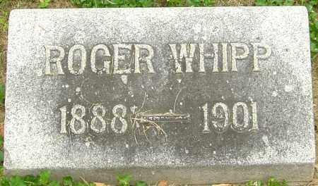 WHIPP, ROGER - Montgomery County, Ohio | ROGER WHIPP - Ohio Gravestone Photos