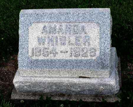 WHISLER, AMANDA - Montgomery County, Ohio   AMANDA WHISLER - Ohio Gravestone Photos
