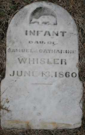 WHISLER, INFANT DAUGHTER - Montgomery County, Ohio | INFANT DAUGHTER WHISLER - Ohio Gravestone Photos