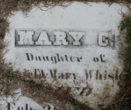 WHISLER, MARY C. - Montgomery County, Ohio   MARY C. WHISLER - Ohio Gravestone Photos