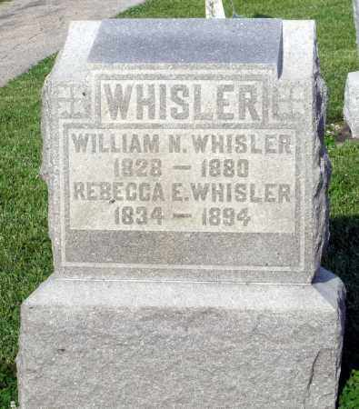 WHISLER, WILLIAM N. - Montgomery County, Ohio   WILLIAM N. WHISLER - Ohio Gravestone Photos