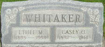 WHITAKER, CASEY O - Montgomery County, Ohio | CASEY O WHITAKER - Ohio Gravestone Photos