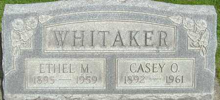 FRANK WHITAKER, ETHEL M - Montgomery County, Ohio | ETHEL M FRANK WHITAKER - Ohio Gravestone Photos