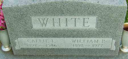 WHITE, CALLIE L - Montgomery County, Ohio | CALLIE L WHITE - Ohio Gravestone Photos
