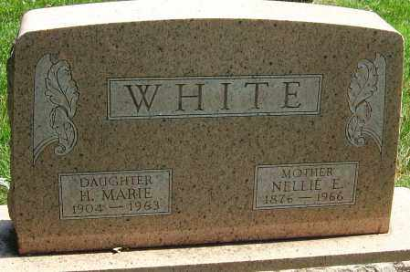 WHITE, H MARIE - Montgomery County, Ohio | H MARIE WHITE - Ohio Gravestone Photos