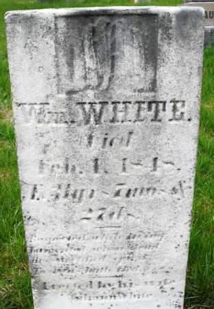 WHITE, WILLIAM - Montgomery County, Ohio   WILLIAM WHITE - Ohio Gravestone Photos