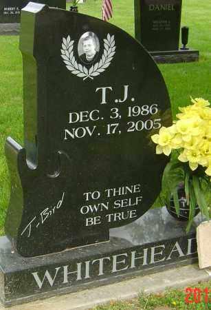 WHITEHEAD, T J - Montgomery County, Ohio | T J WHITEHEAD - Ohio Gravestone Photos