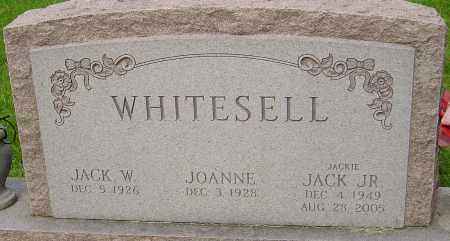 WHITESELL JR., JACK - Montgomery County, Ohio | JACK WHITESELL JR. - Ohio Gravestone Photos