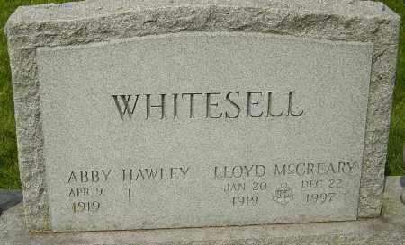 WHITESELL, LLOYD MCCREARY - Montgomery County, Ohio | LLOYD MCCREARY WHITESELL - Ohio Gravestone Photos