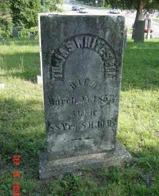 WHITESELL, TOBIAS - Montgomery County, Ohio   TOBIAS WHITESELL - Ohio Gravestone Photos