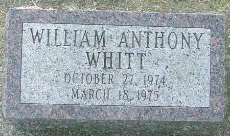 WHITT, WILLIAM ANTHONY - Montgomery County, Ohio   WILLIAM ANTHONY WHITT - Ohio Gravestone Photos