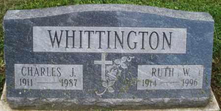 WHITTINGTON, CHARLES J. - Montgomery County, Ohio   CHARLES J. WHITTINGTON - Ohio Gravestone Photos