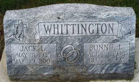 WHITTINGTON, BONNIE L. - Montgomery County, Ohio | BONNIE L. WHITTINGTON - Ohio Gravestone Photos