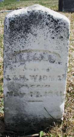 WIDMAN, INFANT - Montgomery County, Ohio   INFANT WIDMAN - Ohio Gravestone Photos