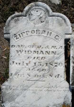 WIDMANN, ZIPPORAH C. - Montgomery County, Ohio | ZIPPORAH C. WIDMANN - Ohio Gravestone Photos