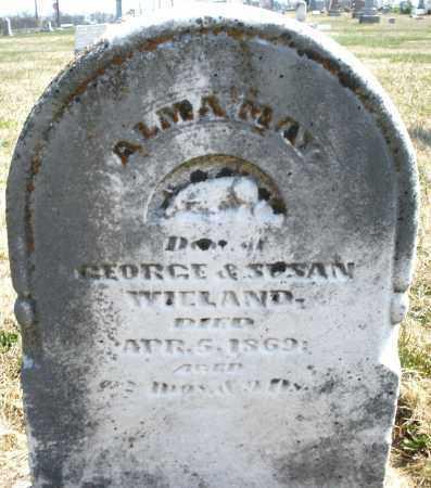 WIELAND, ALMA MAY - Montgomery County, Ohio | ALMA MAY WIELAND - Ohio Gravestone Photos