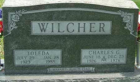 WILCHER, TOLEDA - Montgomery County, Ohio | TOLEDA WILCHER - Ohio Gravestone Photos
