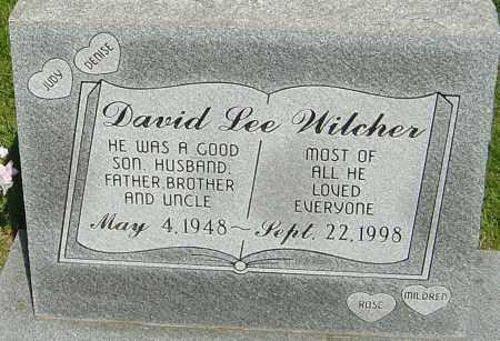 WILCHER, DAVID LEE - Montgomery County, Ohio | DAVID LEE WILCHER - Ohio Gravestone Photos
