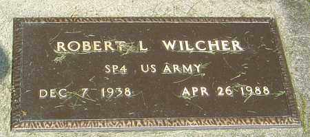 WILCHER, ROBERT L - Montgomery County, Ohio | ROBERT L WILCHER - Ohio Gravestone Photos