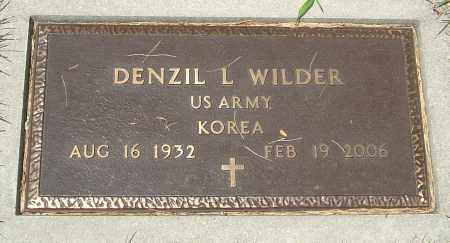 WILDER, DENZIL L - Montgomery County, Ohio | DENZIL L WILDER - Ohio Gravestone Photos