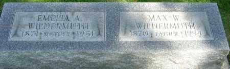 WILDERMUTH, MAX W - Montgomery County, Ohio | MAX W WILDERMUTH - Ohio Gravestone Photos