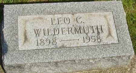 WILDERMUTH, LEO C - Montgomery County, Ohio | LEO C WILDERMUTH - Ohio Gravestone Photos