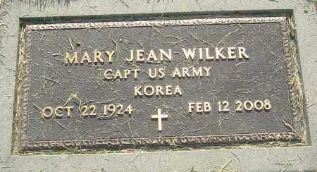 WILKER, MARY JEAN - Montgomery County, Ohio | MARY JEAN WILKER - Ohio Gravestone Photos