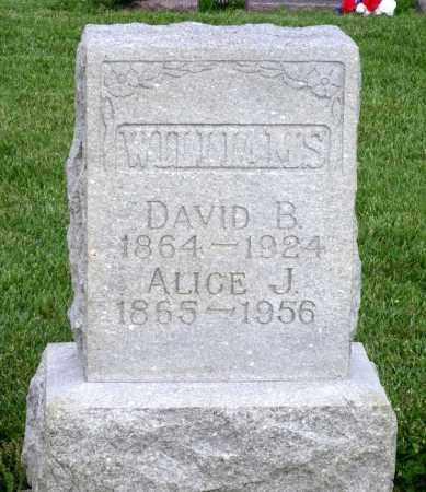 WILLIAMS, DAVID B. - Montgomery County, Ohio | DAVID B. WILLIAMS - Ohio Gravestone Photos