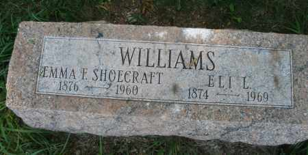 SHOECRAFT WILLIAMS, EMMA F. - Montgomery County, Ohio | EMMA F. SHOECRAFT WILLIAMS - Ohio Gravestone Photos