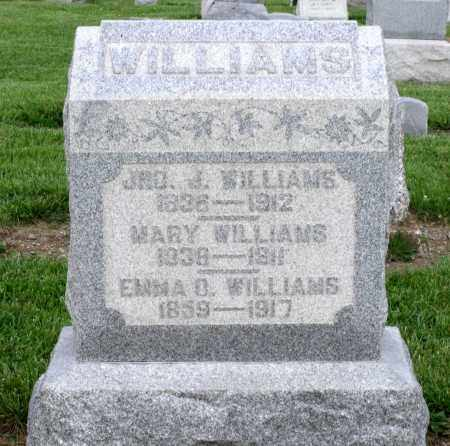 WILLIAMS, MARY - Montgomery County, Ohio | MARY WILLIAMS - Ohio Gravestone Photos