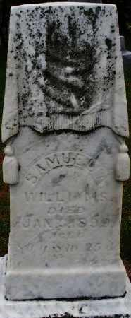 WILLIAMS, SAMUEL A. - Montgomery County, Ohio | SAMUEL A. WILLIAMS - Ohio Gravestone Photos