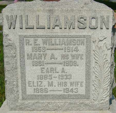 WILLIAMSON, R E - Montgomery County, Ohio | R E WILLIAMSON - Ohio Gravestone Photos