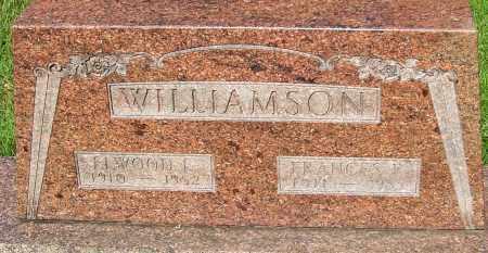 WILLIAMSON, FRANCES E - Montgomery County, Ohio | FRANCES E WILLIAMSON - Ohio Gravestone Photos