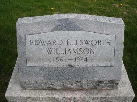 WILLIAMSON, EDWARD ELLSWORTH - Montgomery County, Ohio   EDWARD ELLSWORTH WILLIAMSON - Ohio Gravestone Photos
