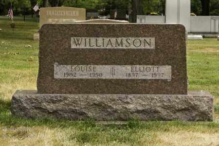 WILLIAMSON, MARY LOUISE - Montgomery County, Ohio | MARY LOUISE WILLIAMSON - Ohio Gravestone Photos