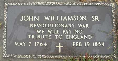 WILLIAMSON, JOHN SR. - Montgomery County, Ohio | JOHN SR. WILLIAMSON - Ohio Gravestone Photos